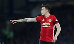 Phil Jones of Manchester United during the Premier League match at Goodison Park, Liverpool. Picture date: December 4th, 2016.Photo credit should read: Lynne Cameron/Sportimage
