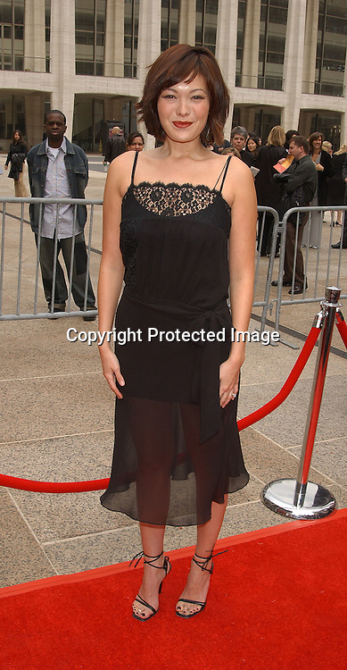 Lindsay Price                              ..at the NBC Upfront announcement of their new shows ..on May 12,2003 at the Metropolitan Opera House ...Photo by Robin Platzer, Twin Images