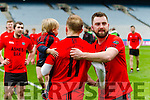 Danny O'Sullivan Glenbeigh Glencar v Rock Saint Patricks in the Junior Football All Ireland Final in Croke Park on Sunday.