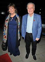 Debbie Blackburn and Tony Blackburn at the &quot;Big Fish the Musical&quot; gala performance, The Other Palace, Palace Street, London, England, UK, on Wednesday 08 November 2017.<br /> CAP/CAN<br /> &copy;CAN/Capital Pictures