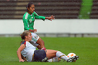 22 June 2008:  Action photo of Sandra Mayor of Mexico, during game of the  Campeonato Femenil Sub 20 held at Puebla./Foto de accion de Sandra Mayor de Mexico, durante juego del Campeonato Femenil Sub 20 celebrado en Puebla. MEXSPORT/OMAR MARTINEZ