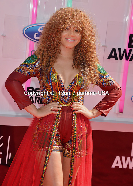Nadia Buari 105 at the arrival of the BET 14 Awards 2014 at the Nokia Theatre in Los Angeles.