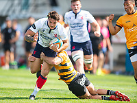 Action during the pre season friendly match between London Scottish & Chinnor at Richmond Athletic Ground, Richmond, United Kingdom on 24 August 2019. Photo by Andrew Aleksiejczuk / PRiME Media Images.