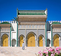 Morocco, Fes: Royal Palace Dar El Makhzen | Marokko, Fes: Koenigspalast Dar El Makhzen