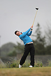 Daniel Holland (Castle/UCD) on the 11th Tee Box on Day 2 of the East of Ireland Amateur Open Championship 2011 in Co.Louth Golf Club....(Photo credit should read Jenny Matthews www.newsfile.ie)....This Picture has been sent you under the conditions enclosed by:.Newsfile Ltd..The Studio,.Millmount Abbey,.Drogheda,.Co Meath..Ireland..Tel: +353(0)41-9871240.Fax: +353(0)41-9871260.GSM: +353(0)86-2500958.email: pictures@newsfile.ie.www.newsfile.ie.