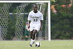 31 August 2008: Wake Forest's Ike Opara. The Wake Forest University Demon Deacons defeated the Florida International University Panthers 3-0 at Fetzer Field in Chapel Hill, North Carolina in an NCAA Division I Men's college soccer game.