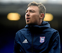 Ipswich Town's Freddie Sears during the pre-match warm-up <br /> <br /> Photographer Hannah Fountain/CameraSport<br /> <br /> The EFL Sky Bet Championship - Ipswich Town v Rotherham United - Saturday 12th January 2019 - Portman Road - Ipswich<br /> <br /> World Copyright &copy; 2019 CameraSport. All rights reserved. 43 Linden Ave. Countesthorpe. Leicester. England. LE8 5PG - Tel: +44 (0) 116 277 4147 - admin@camerasport.com - www.camerasport.com