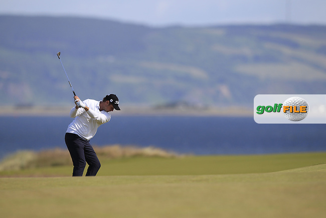 Bjorn Akesson (SWE) during the first round of the Aberdeen Asset Management Scottish Open 2016, Castle Stuart  Golf links, Inverness, Scotland. 07/07/2016.<br /> Picture Fran Caffrey / Golffile.ie<br /> <br /> All photo usage must carry mandatory copyright credit (&copy; Golffile | Fran Caffrey)