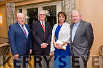 Enjoying the Lee Strand Social at Ballygarry House Hotel on Saturday were Gerry Dwyer, Mike Magan, Mary Magan and Fr Tadhg Fitzgerald