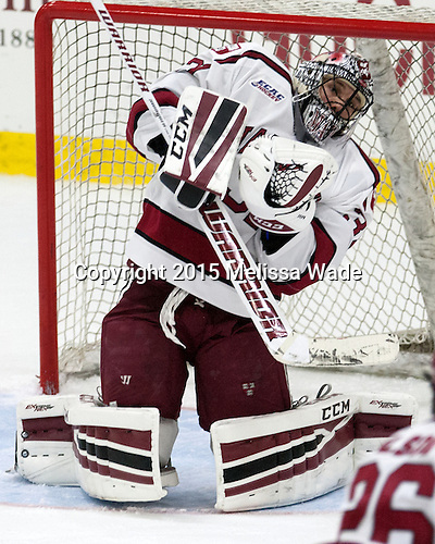 Merrick Madsen (Harvard -  31) - The Harvard University Crimson defeated the Dartmouth College Big Green 5-2 to sweep their weekend series on Sunday, November 1, 2015, at Bright-Landry Hockey Center in Boston, Massachusetts. -