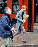 Prince Harry  at  The Old Vic  theatre  Bristol  01.02.19
