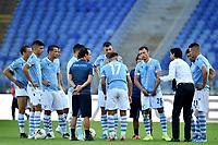 Simone Inzaghi coach of SS Lazio talks to his players <br /> Roma 29-9-2019 Stadio Olimpico <br /> Football Serie A 2019/2020 <br /> SS Lazio - Genoa CFC <br /> Foto Andrea Staccioli / Insidefoto