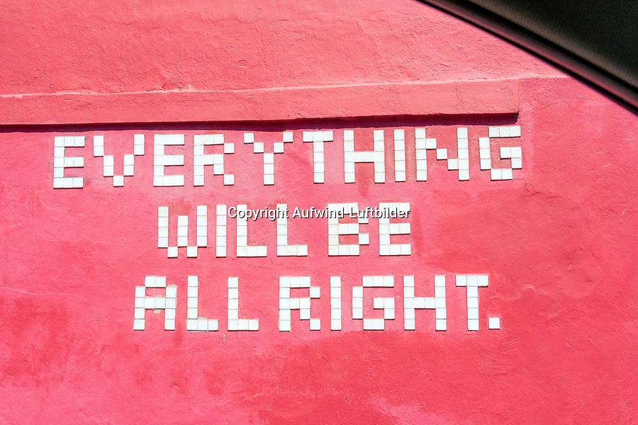Everything will be allright: AFRIKA, SUEDAFRIKA, 18.01.2020: Everything will be allright