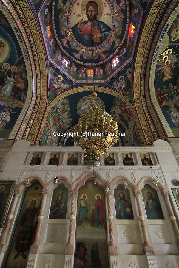 The Church at the Greek Orthodox Monastery of St. Theodosius, east of Bethlehem