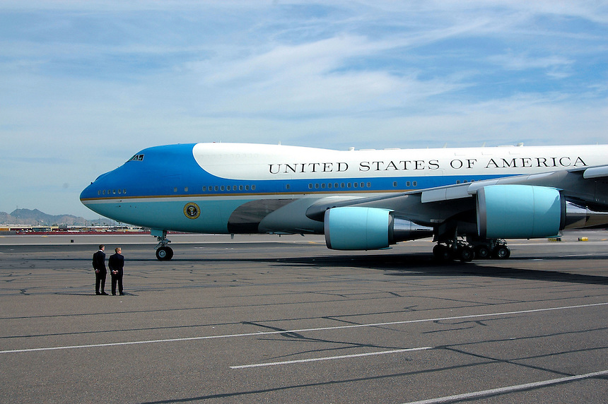 AJ Alexander - Air Force One.Photo by AJ Alexander