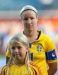 Victoria Sandell Svensson, Sweden-Russia, Women's EURO 2009 in Finland, 08252009, Turku, Veritas Stadium.