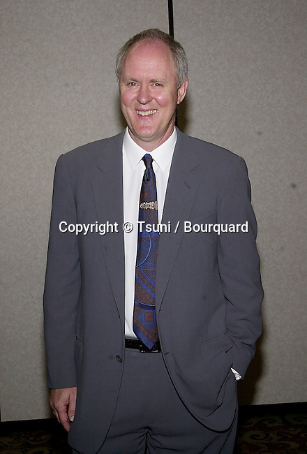 John Lithgow was attending the Women in Film Silver anniversary Luncheon at the Century Plaza Hotel in Los Angeles  June 8, 2001  © Tsuni          -            LithgowJohn08.jpg