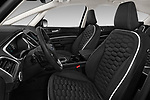Front seat view of a 2018 Ford S-Max Vignale Base 5 Door Mini Van front seat car photos