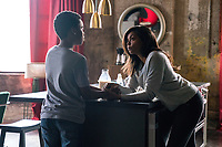 Proud Mary (2018) <br /> Before her mission against the Kozlovs, Mary (Taraji P. Henson) tells Danny (Jahi Di'Allo Winston) that if she doesn't come back he's to take the money he found in her closet and run<br /> *Filmstill - Editorial Use Only*<br /> CAP/KFS<br /> Image supplied by Capital Pictures