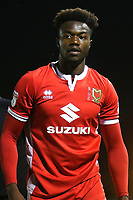 Gboly Ariyibi of MK Dons during Forest Green Rovers vs MK Dons, Carabao Cup Football at The New Lawn on 8th August 2017