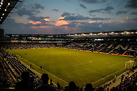 Kansas City, KS - Wednesday September 20, 2017: 2017 U.S. Open Cup Children's Mercy Park during the 2017 U.S. Open Cup Final Championship game between Sporting Kansas City and the New York Red Bulls at Children's Mercy Park.