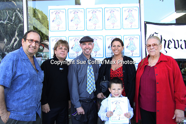 "The Premiere Book Signing of ""It's All About Dorothy"" - a wonderful new children's book and song which includes a cd telling the story of ""The Wizard of Oz"" on April 10, 2011 at Chevalier's Books, Los Angeles, California. (Photos by Sue Coflin/Max Photos)"