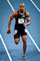 Asafa Powell from Jamaica competes at men 50 meter Dash during the U.S open track & Field in the madison Square Garden in New York, United States. 28/01/2012. Photo by Kena Betancur / viewpress