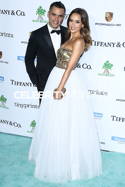 CULVER CITY, LOS ANGELES, CA, USA - NOVEMBER 08: Cash Warren, Jessica Alba arrive at the 3rd Annual Baby2Baby Gala held at The Book Bindery on November 8, 2014 in Culver City, Los Angeles, California, United States. (Photo by Xavier Collin/Celebrity Monitor)