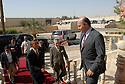 Iraq 2008 .Baghdad: Behram Saleh, deputy prime minister , welcomes Barack Obama, candidate to the presidency of United States .Irak 2008.Baghdad: Berham Saleh, vice premier ministre accueille Barack Obama, candidat a la presidence des Etats Unis