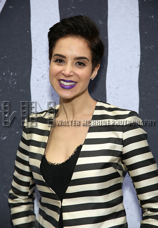 """Alexandra Silber attends the Broadway Opening Night Performance for """"Beetlejuice"""" at The Wintergarden on April 25, 2019  in New York City."""