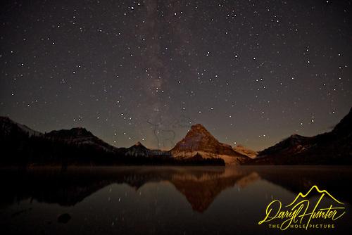 Milky Way, Two Medicine Lake