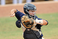 17 April 2010:  FIU's Jose Behar (8) throws to second as the FIU Golden Panthers defeated the University of New Orleans Privateers, 6-4, at University Park Stadium in Miami, Florida.