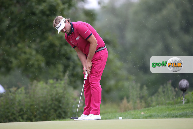 Victor Dubuisson (FRA) made hard work of the 13th during Round Three of the 2015 BMW International Open at Golfclub Munchen Eichenried, Eichenried, Munich, Germany. 27/06/2015. Picture David Lloyd | www.golffile.ie