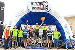 2019 Trentino MTB Challenge - Ride the Nature - 1000 Grobbe Bike Challenge - 100 Km dei Forti  il 09/06/2019 a Lavarone, Podium (3,1,2) Tony Longo, Juri Ragnoli (Scott Racing Team), Mattia Longa (Scott)<br />  © Pierre Teyssot / Mosna