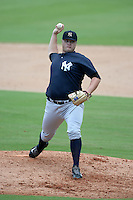 New York Yankees pitcher Cale Coshow (80) during an Instructional League game against the Philadelphia Phillies on September 23, 2014 at the Bright House Field in Clearwater, Florida.  (Mike Janes/Four Seam Images)
