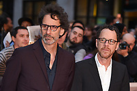 LONDON, UK. October 12, 2018: Joel &amp; Ethan Coen at the London Film Festival screening of &quot;The Ballad of Buster Scruggs&quot; at the Cineworld Leicester Square, London.<br /> Picture: Steve Vas/Featureflash