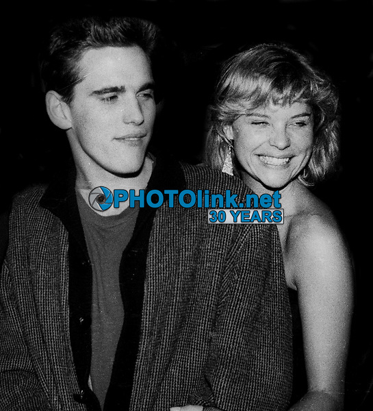 Matt Dillon and Kate Vernon 1984<br /> Photo By Jesse Nash/PHOTOlink
