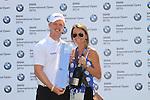 David Horsey and partner winner of the  BMW International Open in GC Munchen Eichenried. 27/6/2010.Picture Fran Caffrey/www.golffile.ie
