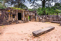 Ancient City of Polonnaruwa, Shiva Devale No 1, ruins of a Hindu Temple, UNESCO World Heritage Site, Sri Lanka, Asia. This is a photo of the ruins of Shiva Devale Temple No 1, a Hindu Temple in the Ancient City of Polonnaruwa, a UNESCO World Heritage Site in Sri Lanka, Asia.