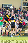 Ambrose O'Donovan Dr Crokes in Action against Evan Sweeney Loughmore-Castleiney in the Munster Senior Club Semi-Final at Crokes Ground, Lewis Road on Sunday