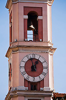 Europe/France/Provence-Alpes-Côte d'Azur/06/Alpes-Maritimes/Nice : La Tour de l'Horloge, Place du Palais  //  // Europe, France, Provence-Alpes-Côte d'Azur, Alpes-Maritimes, Nice:  The Clock Tower, place du  Palais