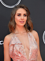 Alison Brie at the 2018 ESPY Awards at the Microsoft Theatre LA Live, Los Angeles, USA 18 July 2018<br /> Picture: Paul Smith/Featureflash/SilverHub 0208 004 5359 sales@silverhubmedia.com