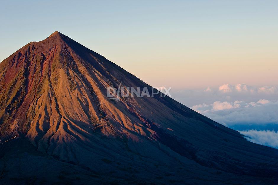 Sunrise on Mount Inerie, Bajawa, Flores