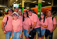 Sevens fans on day one of the 2019 HSBC World Sevens Series Hamilton at FMG Stadium in Hamilton, New Zealand on Saturday, 26 January 2019. Photo: Dave Lintott / lintottphoto.co.nz