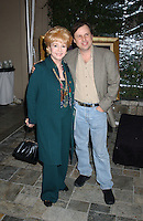 """28 December 2016 - Debbie Reynolds, the Oscar-nominated """"Singin' in the Rain,""""  singer-actress who was the mother of late actress Carrie Fisher, has died. She was 84. """"She wanted to be with Carrie,"""" her son Todd Fisher told Variety. She was taken to the hospital from Todd Fisher's Beverly Hills house Wednesday after a suspected stroke, the day after her daughter Carrie Fisher died. File Photo: Dec 05, 2003; Beverly Hills, CA, USA ; Actress DEBBIE REYNOLDS and son TODD FISHER during the  Hollywood Collection Auction Preview held at Le Meridien Hotel. Photo Credit: Laura Farr/AdMedia"""