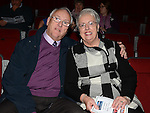 Mr & Mrs Peter Watkins pictured at the Gospel Gathering in the TLT. Photo:Colin Bell/pressphotos.ie