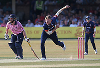 Sam Cook in bowling action for Essex during Essex Eagles vs Middlesex, Vitality Blast T20 Cricket at The Cloudfm County Ground on 6th July 2018