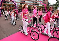 Steppen voor een goed doel:  Pink Ribbon