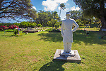 Statue Of Capt. Joseph Dutton At St Joseph Church