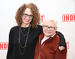 """Rebecca Taichman and Paula Vogel attends the """"Indecent"""" Media Day at Playwrights Horizons on March 13, 2017 in New York City."""